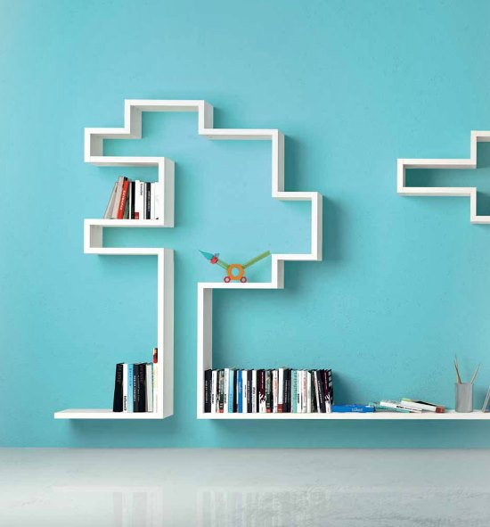 50 Awesome DIY Wall Shelves For Your Home   Ultimate Home ... on Creative Wall  id=82500