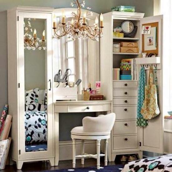 51 Makeup Vanity Table Ideas | Ultimate Home Ideas on Makeup Bedroom  id=40569