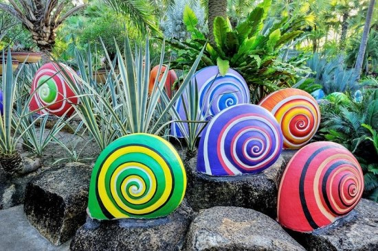 50 Garden Decorating Ideas Using Rocks And Stones on Rock Decorating Ideas  id=28438