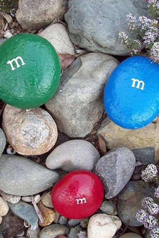 50 Garden Decorating Ideas Using Rocks And Stones on Rock Decorating Ideas  id=86777