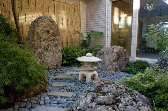 50 Garden Decorating Ideas Using Rocks And Stones on Small Garden Ideas With Rocks id=78489