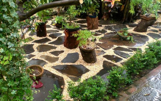 50 Garden Decorating Ideas Using Rocks And Stones on Small Garden Ideas With Rocks id=49444