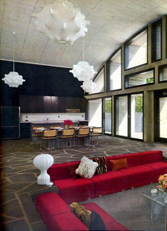 Sunken living room design for an open floor house - NO.1# BEAUTIFUL SUNKEN LIVING ROOM DESIGN IDEAS
