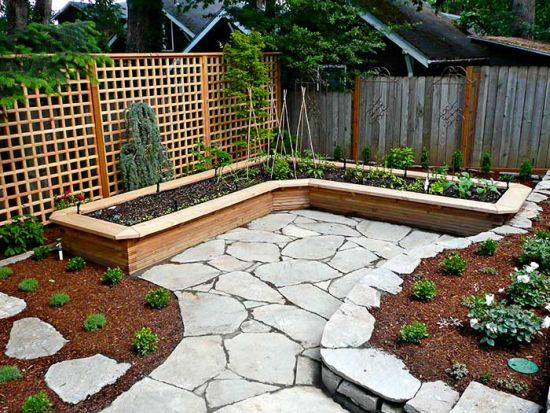 35 Genius Small Garden Ideas and Designs on L Shaped Backyard Layout id=59956