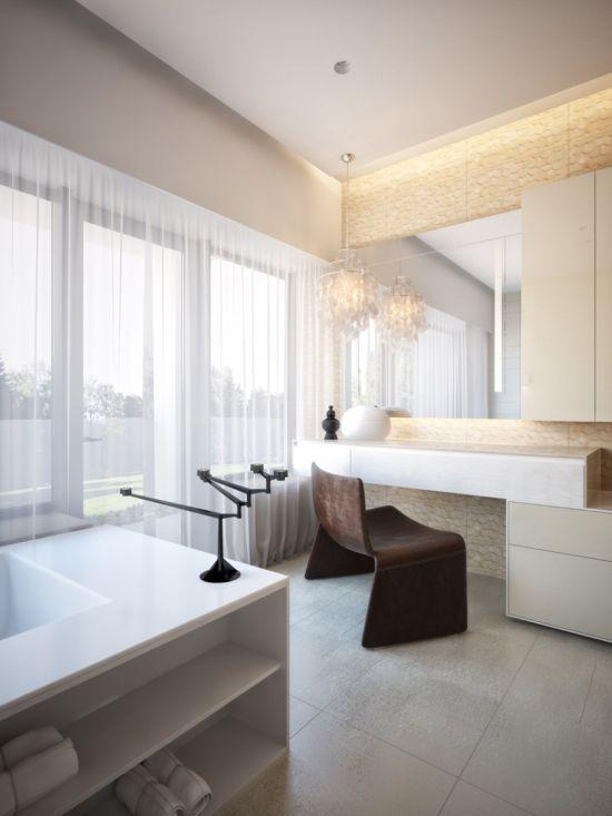 35 Modern Bathroom Ideas for a Clean Look on Modern Small Bathroom Remodel  id=28908
