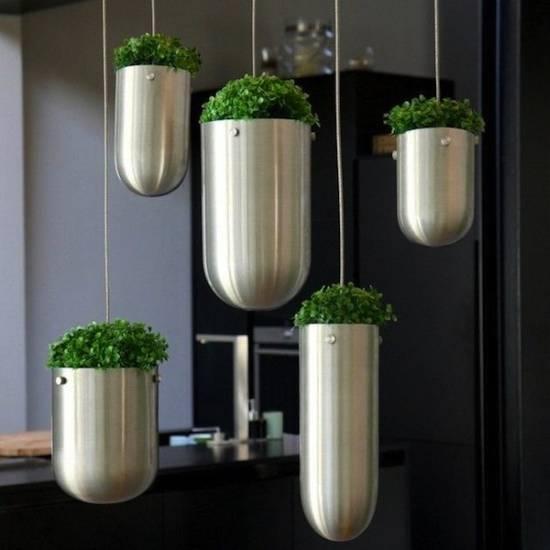 indoor hanging garden ideas 35 Creative & DIY Indoor Herbs Garden Ideas | Ultimate