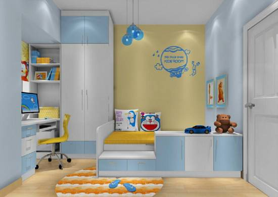 Blue And Yellow Color Combination For Bedroom Decor Green Wall Paint Ceiling