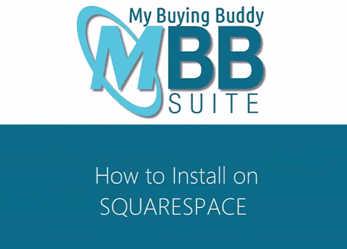 My buying buddy Suite square space setup