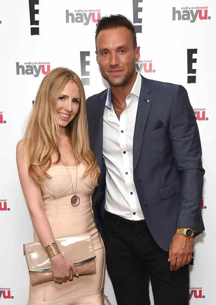 "LONDON, ENGLAND - JUNE 02: Naomi Isted and Calum Best attend the launch of new US celebrity dating show ""Famously Single"" featuring Calum Best on June 2, 2016 in London, England. The show will be available on hayu from Wednesday 15th June and on E! Sunday 19th June at 10pm. (Photo by David M. Benett/Dave Benett/Getty Images for E! / hayu - NBCUniversal) *** Local Caption *** Calum Best; Naomi Isted"