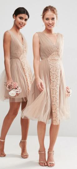 Non Traditional Bridesmaid Dresses