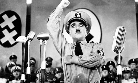 Image result for chaplin great dictator