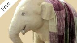 Paper Mache Elephant Pattern