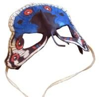Paper Mache Butterfly Mask
