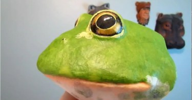 Pattern for Bullfrog Wall Sculpture