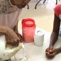 Teaching Paper Mache in the Caribbean