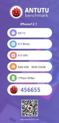 AnTuTu v8 scores: iPhone 11