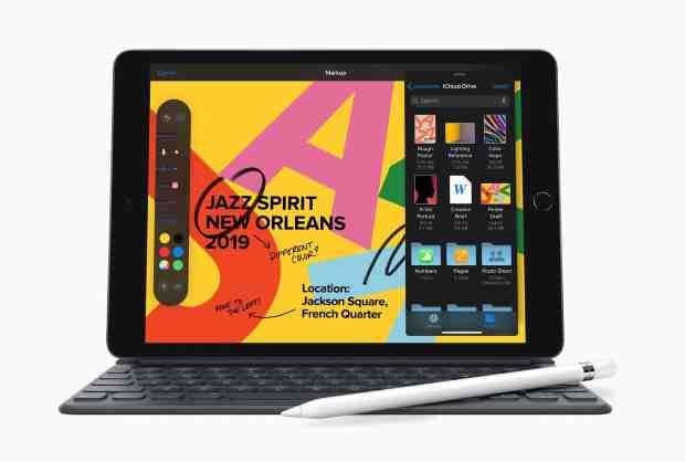 Apple dévoile la septième génération de son iPad