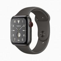 Apple Watch Series 5 in: Black titanium