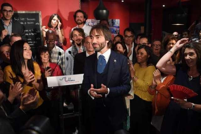 Cédric Villani après avoir annoncé sa candidature, le 4 septembre.
