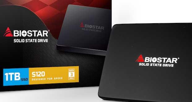 SSD S120 series de Biostar