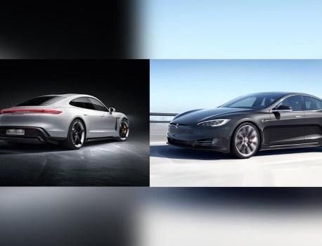 Elon Musk défie Porsche et sa Taycan sur le circuit de Nürburgring