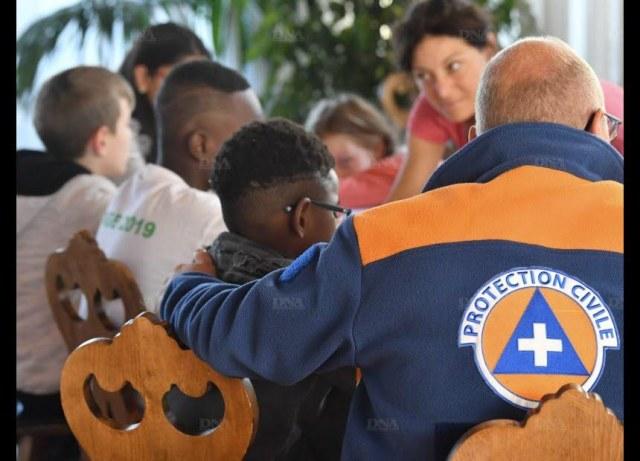 Au centre d'accueil mis en place en mairie de Schiltigheim, les sinistrés ont été accueillis mardi matin. Photo DNA - Laurent Réa