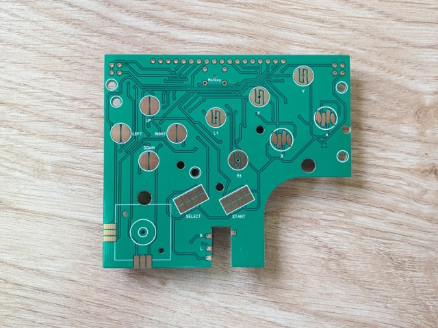 AliExpress Gameboy Button Board - Joystick