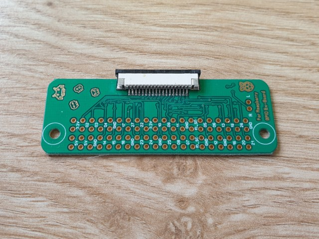 AliExpress Gameboy Button Board - Daughter PCB
