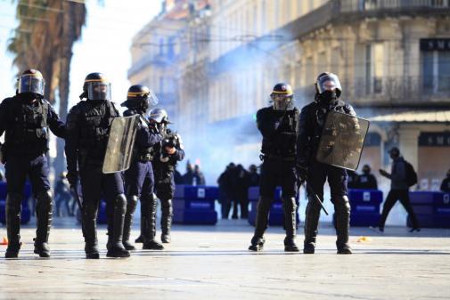 Gilets jaunes : un dispositif policier exceptionnel, le centre-ville de Montpellier sous haute surveillance