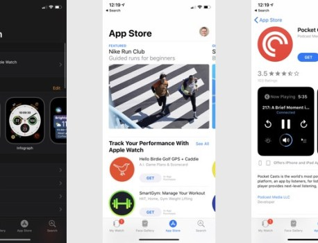 How to view, install and delete apps from the Apple Watch