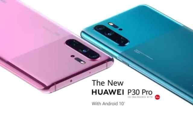 Huawei P30 Pro avec nouveau design EMUI 10 et Android 10