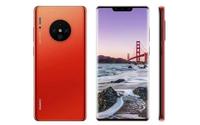 Design du Huawei Mate 30