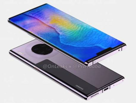 Huawei Mate 30 Pro renders, 360-degree video appear before launch