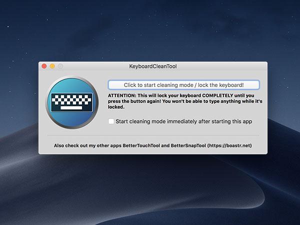 keyboardcleantool macos mac gratuit - KeyboardCleanTool Mac - Verrouiller Clavier et Trackpad (gratuit)