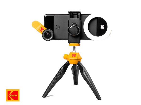 kodak smartphone photography kit iphone accessoires 01 - Kit Photo Kodak de 5 Accessoires pour iPhone et Smartphones
