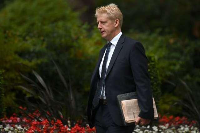 Jo Johnson à son arrivée au 10 Downing Street, à Londres, le 4septembre 2019.