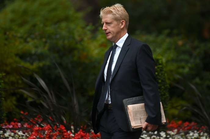 Jo Johnson à son arrivée au 10 Downing Street, à Londres, le 4 septembre 2019.