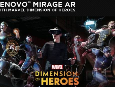 Lenovo Mirage AR Headset out with free Marvel Dimension of Heroes
