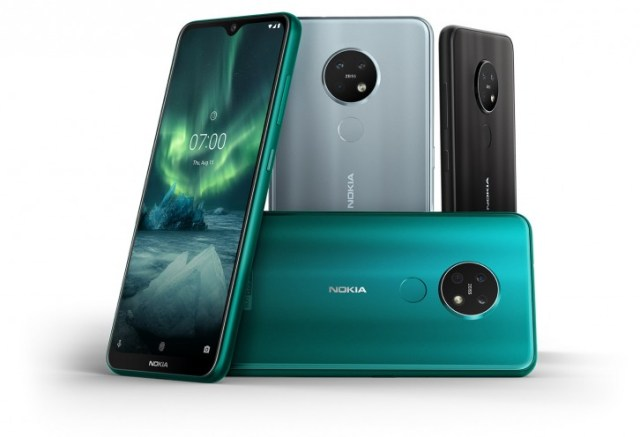 Nokia 7.2 and 6.2 unveiled with triple cameras, 6.3'' HDR10 screens