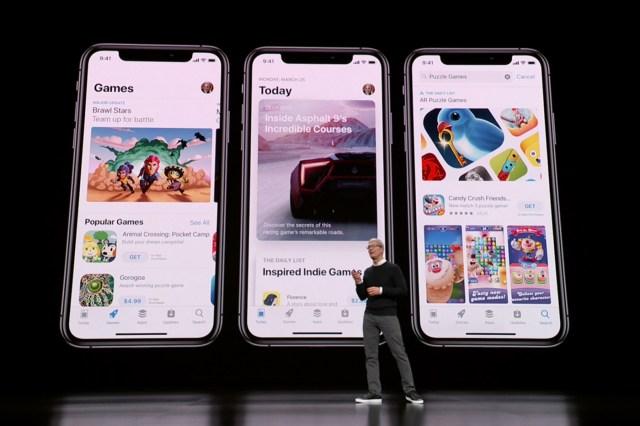 Apple Arcade jeux