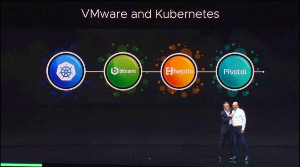 Quand VMware décide que finalement Kubernetes et vSphere feront chambre commune