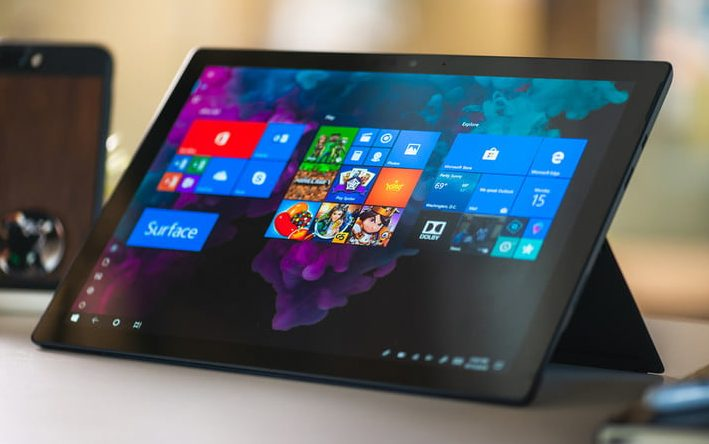 microsoft surface pro 6 conception