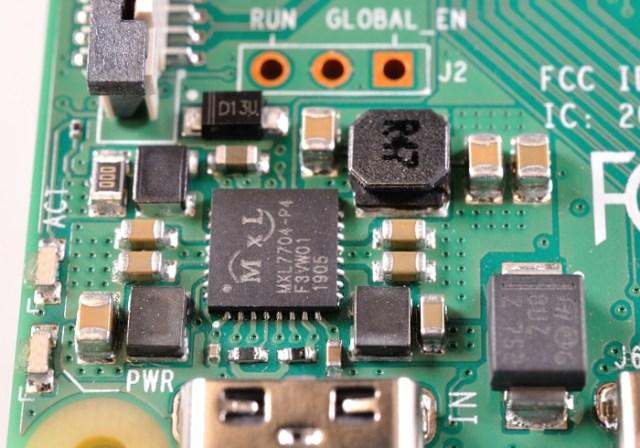 Pi4B power circuitry