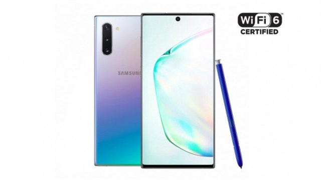 Samsung Galaxy Note10 and Note10+ are the first Wi-Fi Certified 6 smartphones
