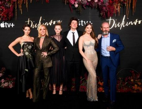 Apple TV+ Comedy Series 'Dickinson' Starring Hailee Steinfeld Premieres in Brooklyn