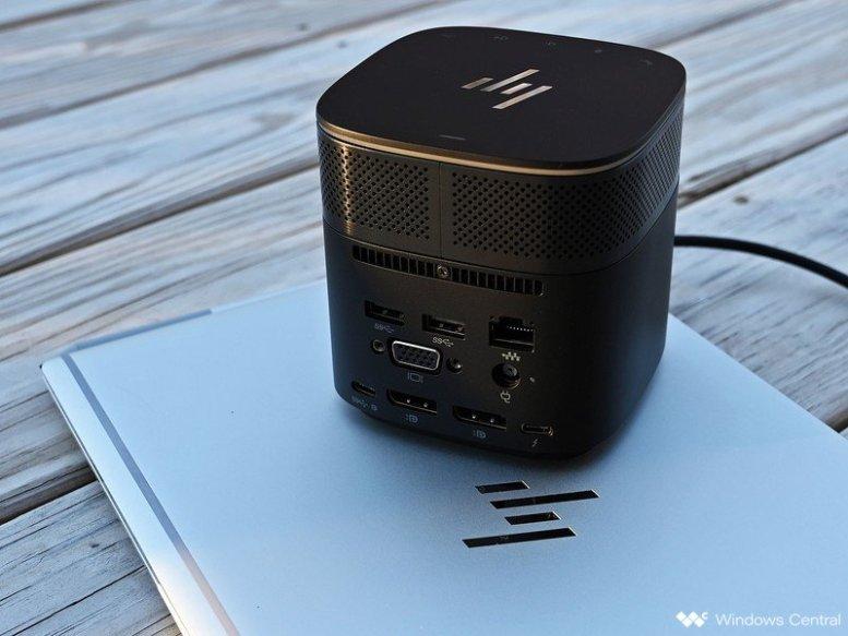 The HP Thunderbolt Dock G2