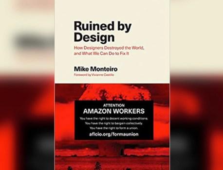 Cet auteur utilise la couverture de son livre pour inciter les salariés d'Amazon à se syndiquer