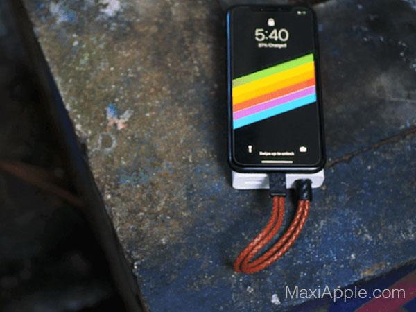 pd charging bracelet mode cable chargeur lightning usb c 03 - Cet Elégant Bracelet est un Cable Lightning Universel (video)