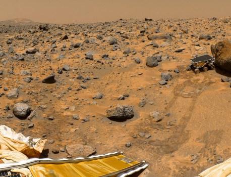 Des scientifiques découvrent les traces d'un lac salé sur Mars