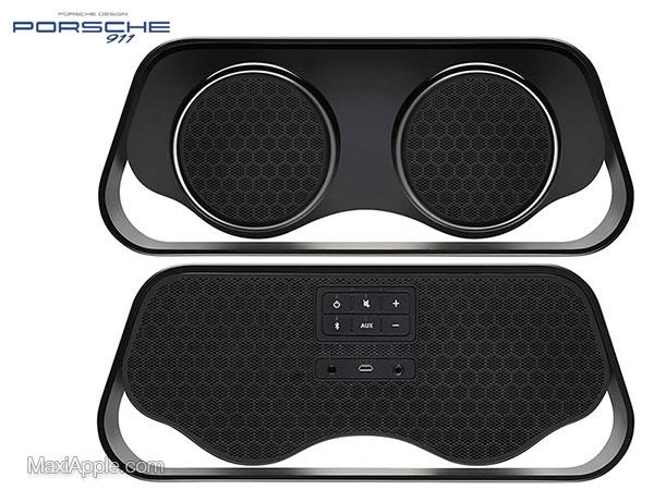porsche design 911 speaker enceinte bluetooth prix 4 - Echappements Porsche 911 en Enceinte sans Fil (images)